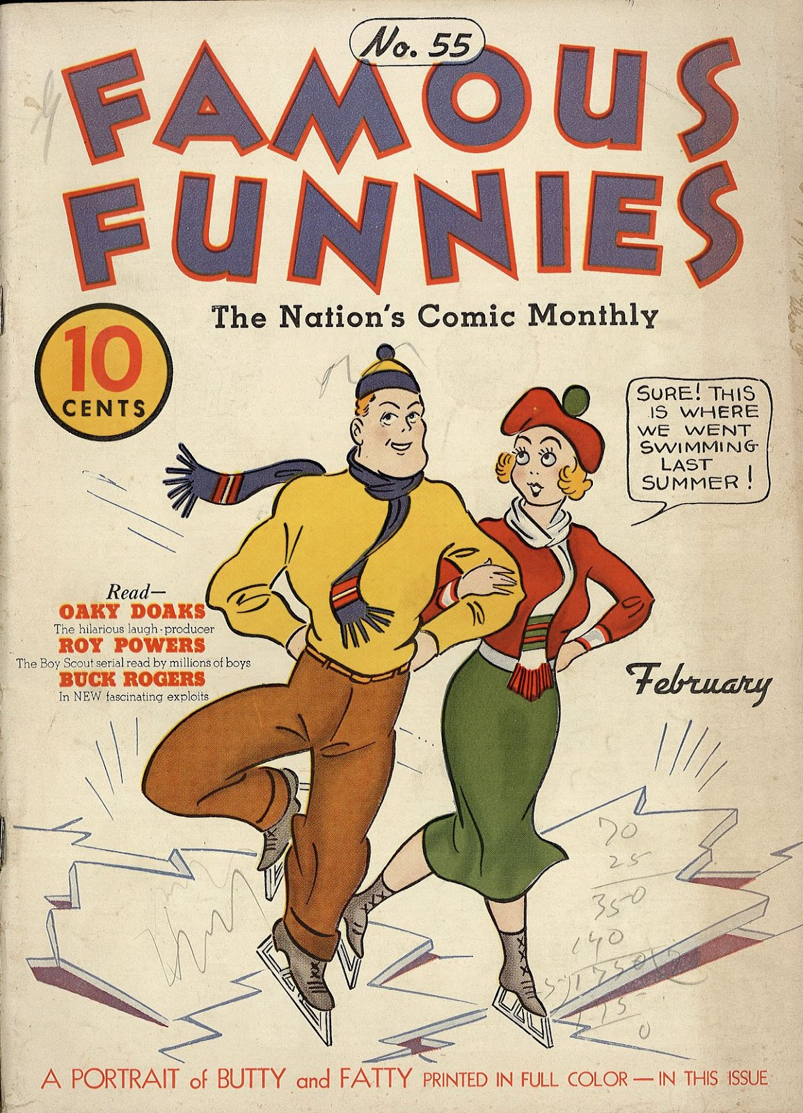 Read online Famous Funnies comic -  Issue #55 - 1
