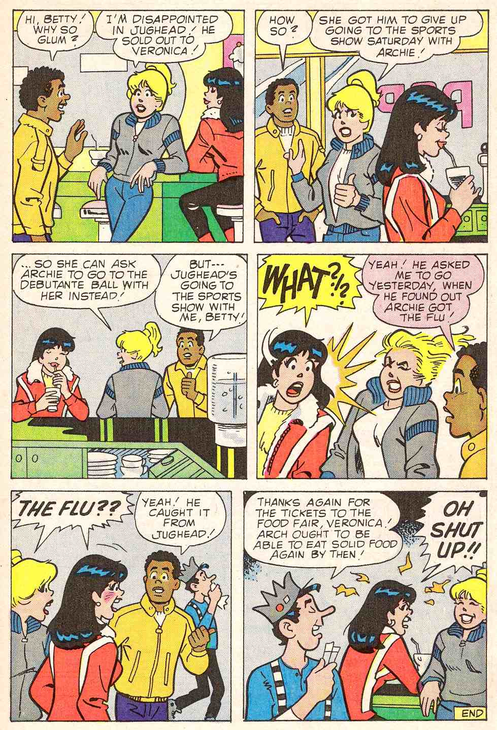 Read online Archie's Girls Betty and Veronica comic -  Issue #347 - 17