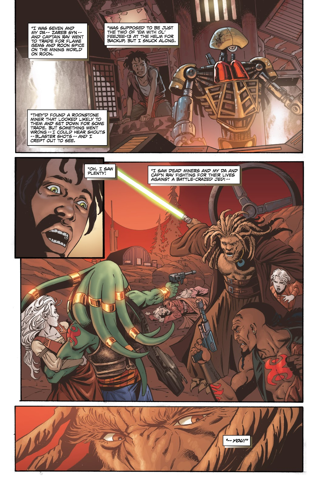 Read online Star Wars Legends: Legacy - Epic Collection comic -  Issue # TPB 2 (Part 2) - 80