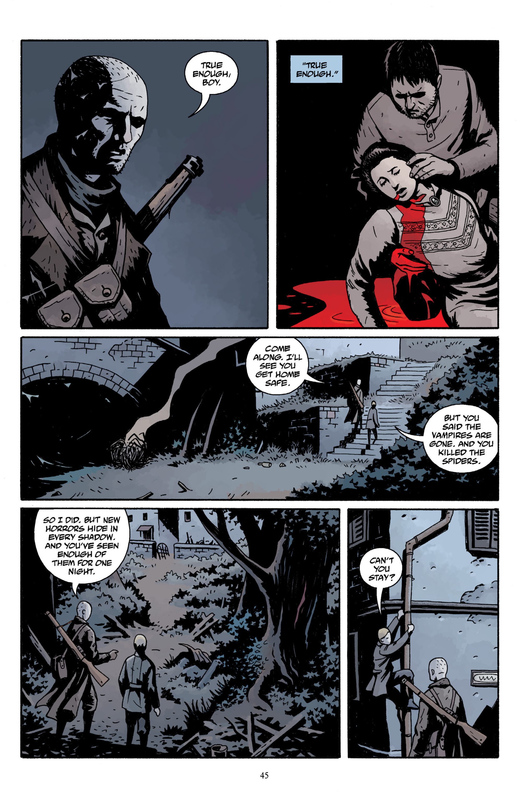 Read online Baltimore Volume 3: A Passing Stranger and Other Stories comic -  Issue # Full - 47