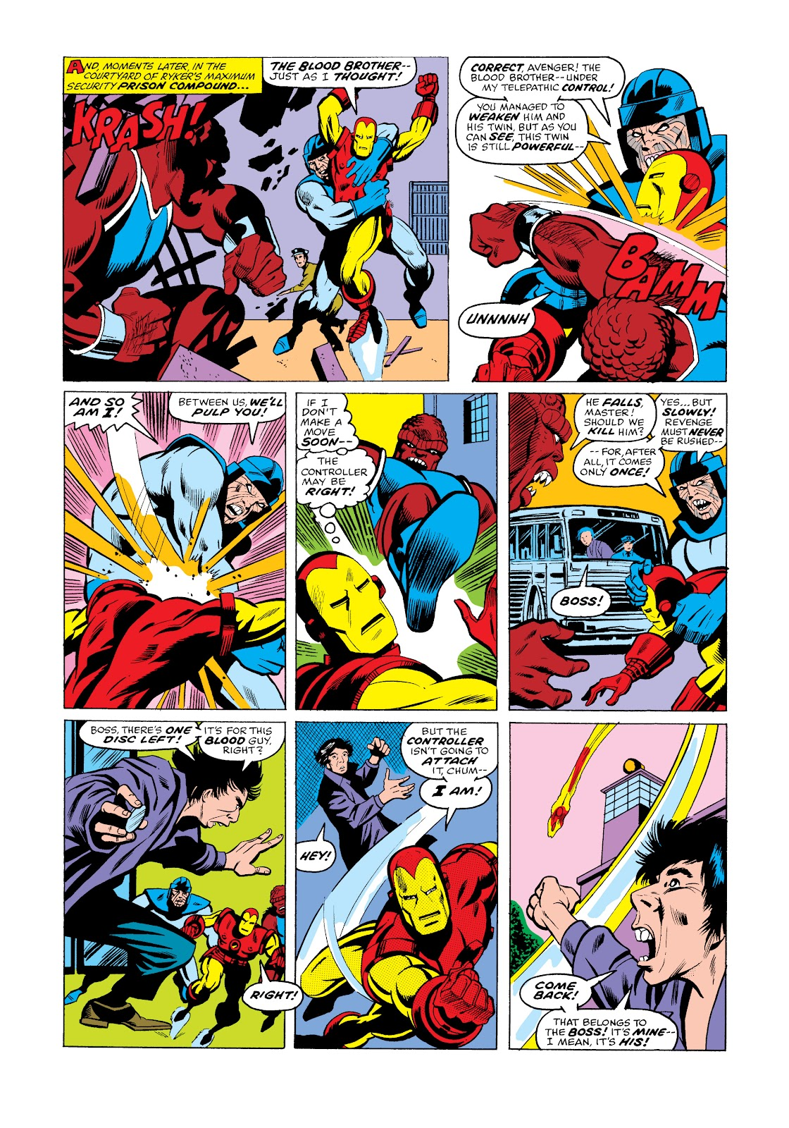 Read online Marvel Masterworks: The Invincible Iron Man comic -  Issue # TPB 11 (Part 3) - 27