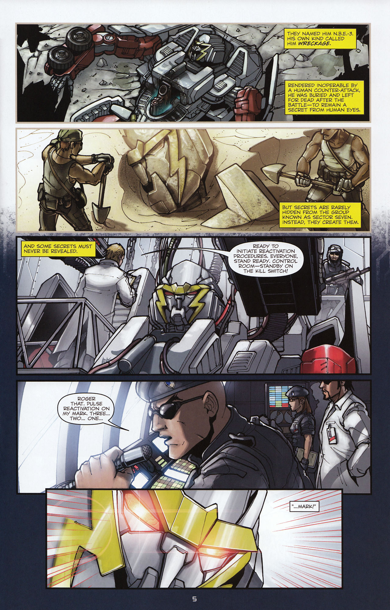 Read online Transformers: Alliance comic -  Issue #1 - 8
