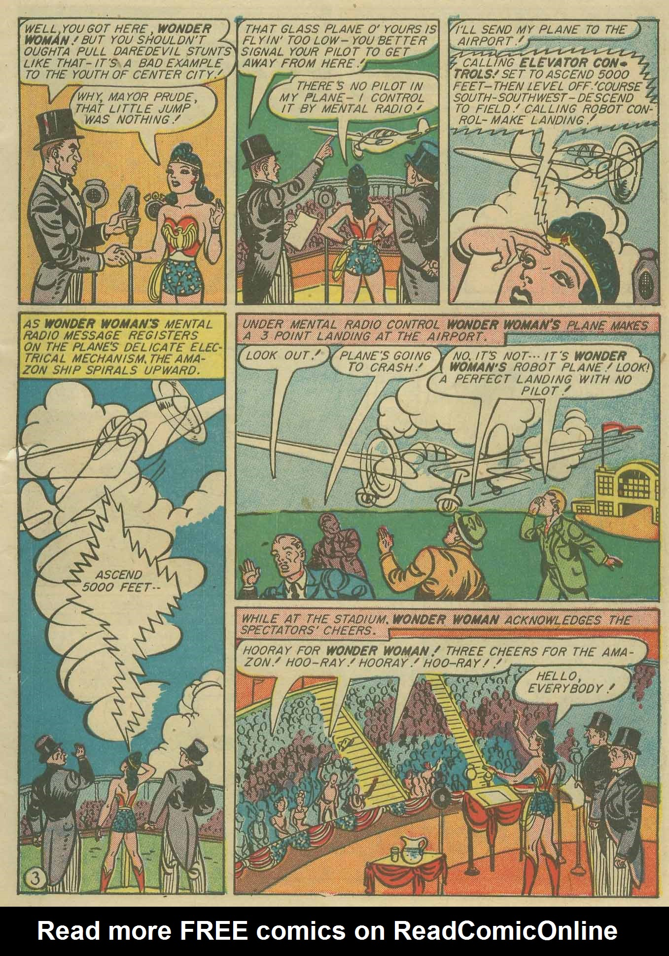 Read online Sensation (Mystery) Comics comic -  Issue #28 - 5