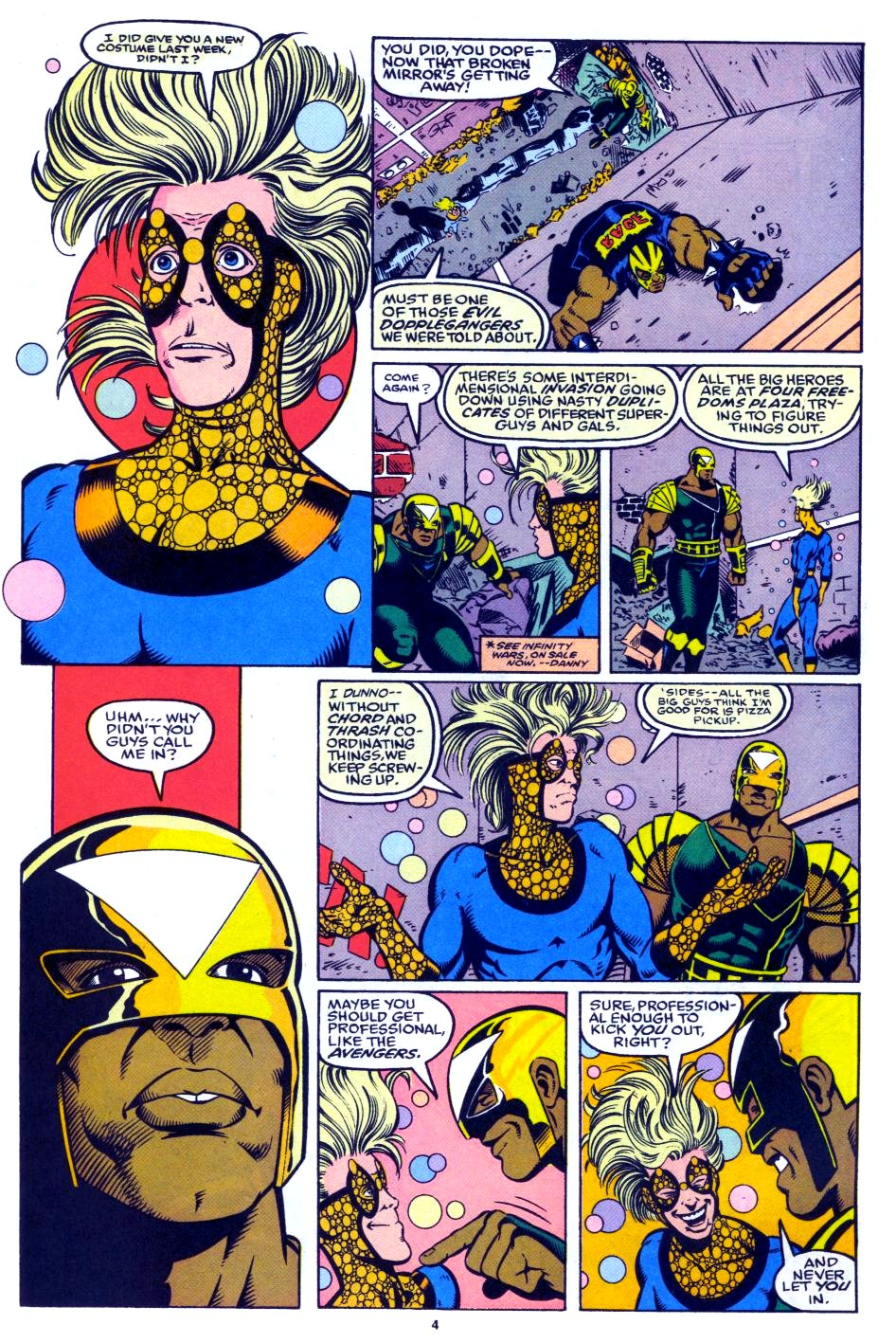 The New Warriors Issue #27 #31 - English 5