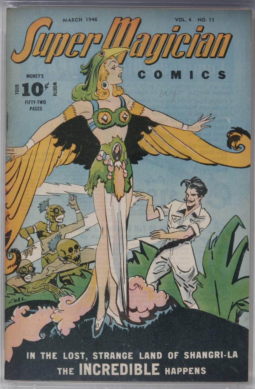 Read online Super-Magician Comics comic -  Issue #47 - 1