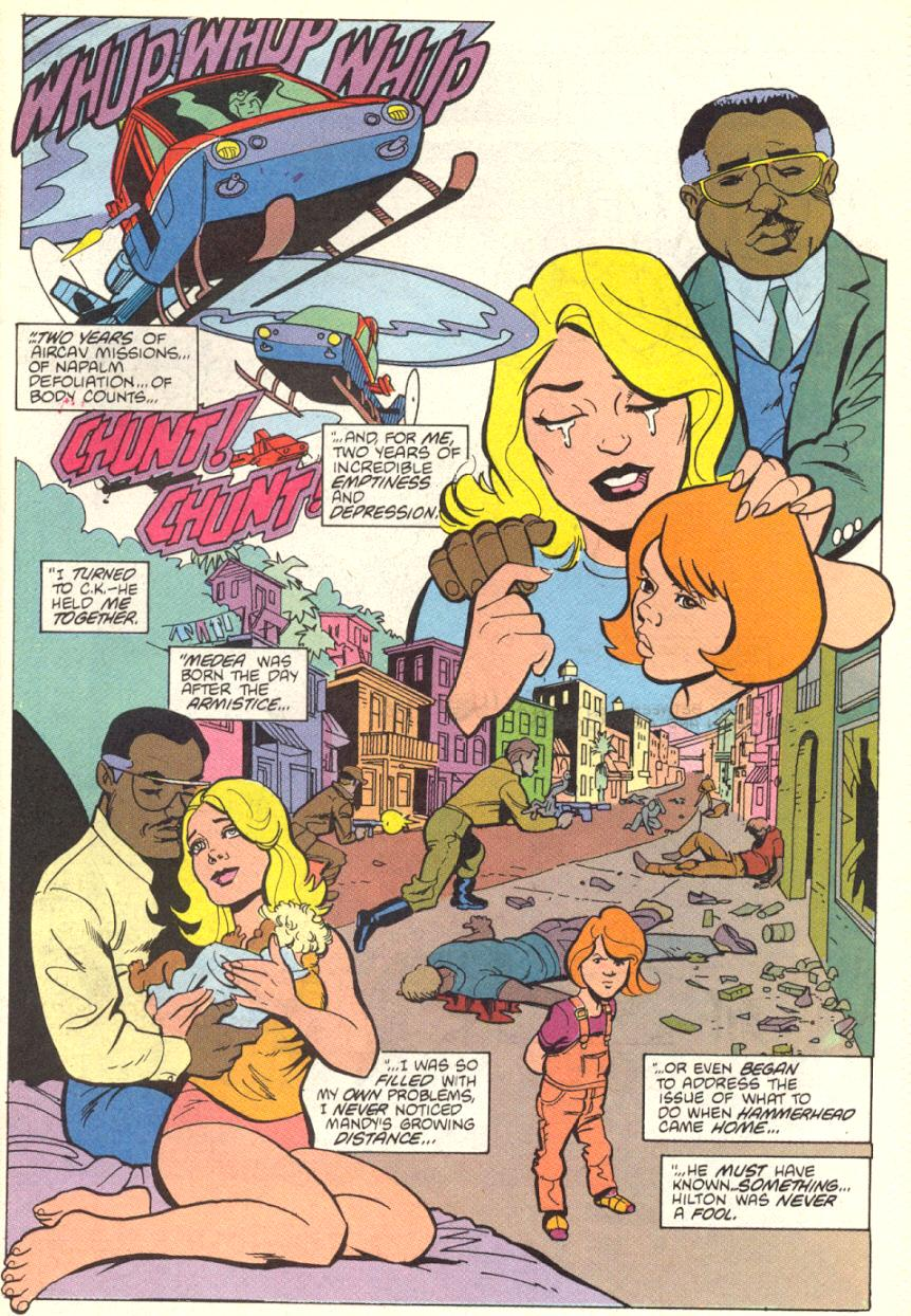 Read online American Flagg! comic -  Issue #13 - 23