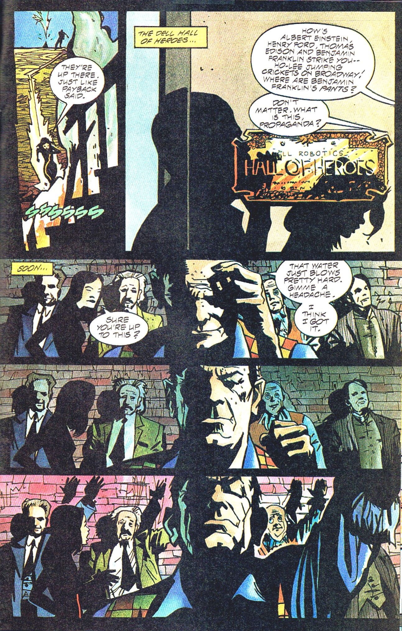 Read online Shadow Cabinet comic -  Issue #16 - 21