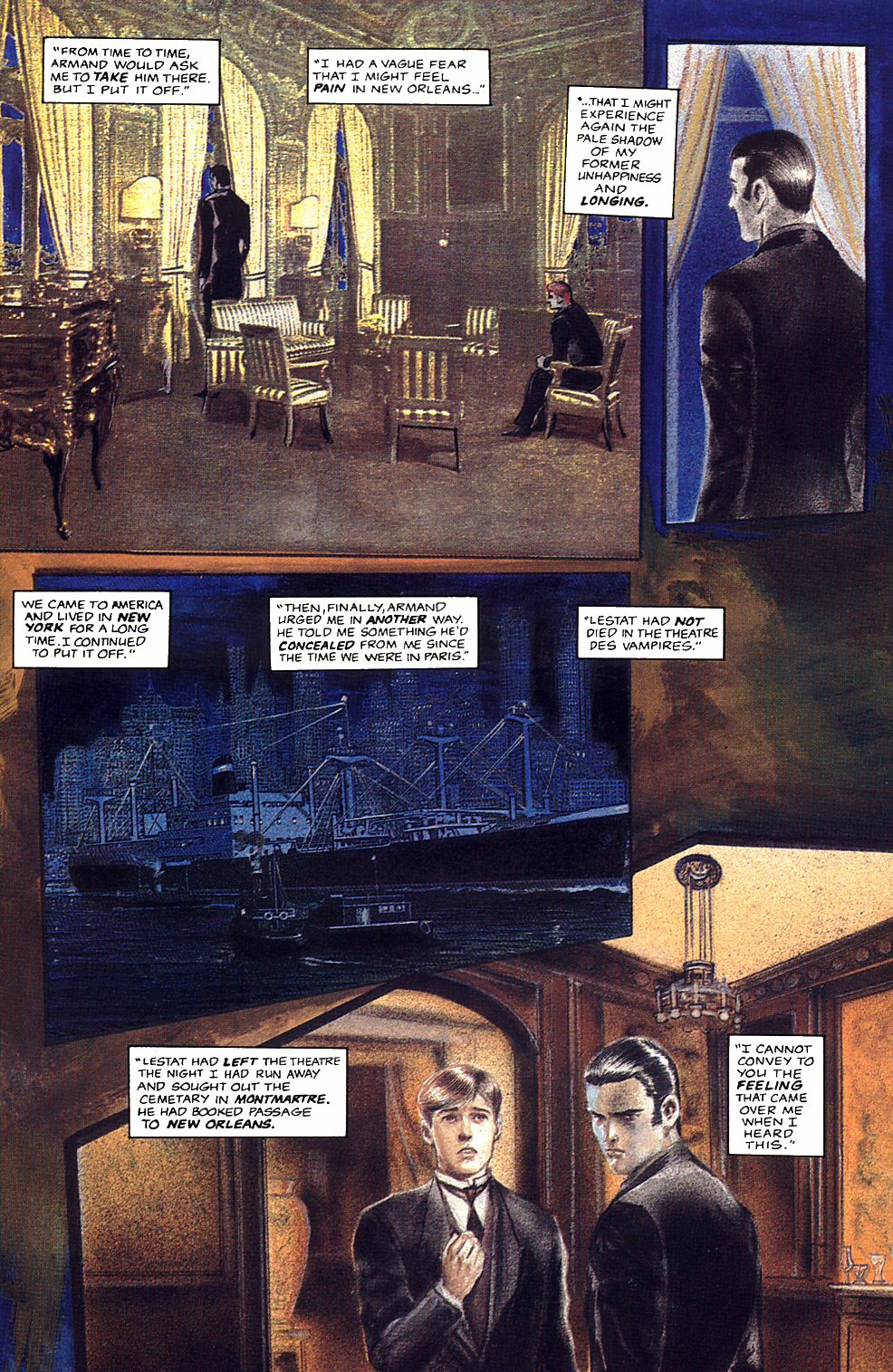 Read online Anne Rice's Interview with the Vampire comic -  Issue #12 - 10
