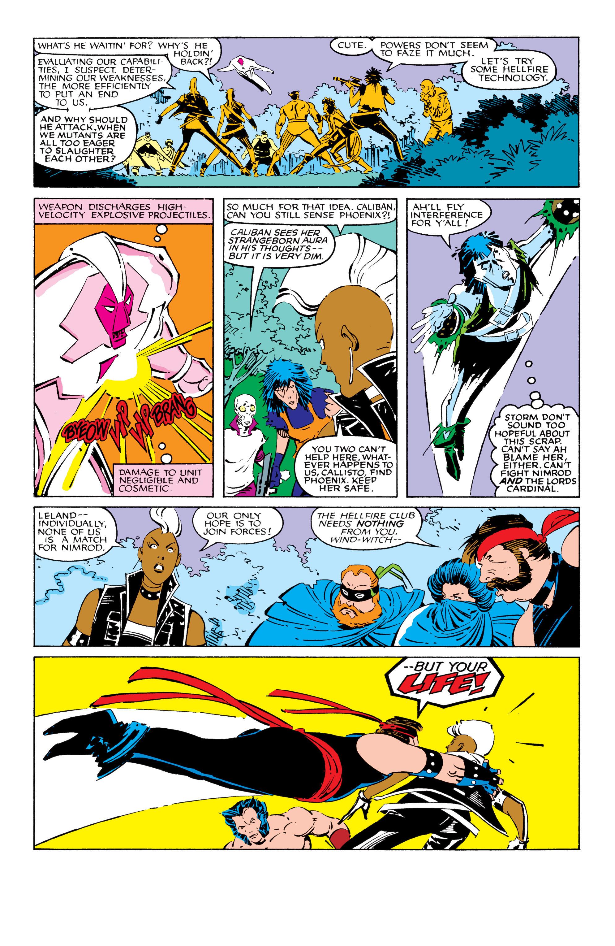 Read online Uncanny X-Men (1963) comic -  Issue #209 - 9