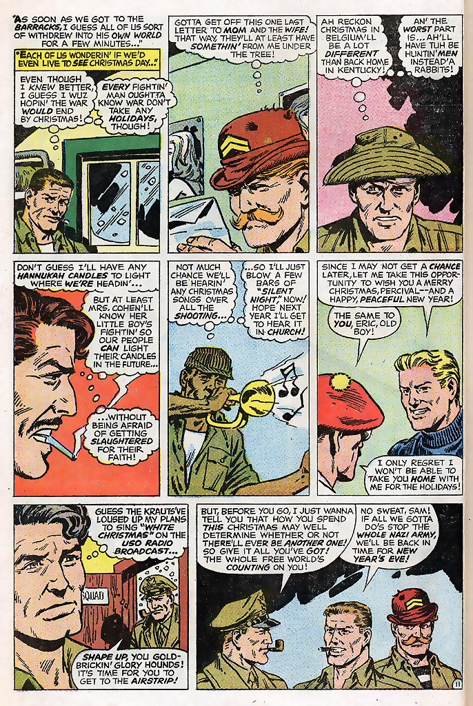 Read online Sgt. Fury comic -  Issue # _Special 4 - 14