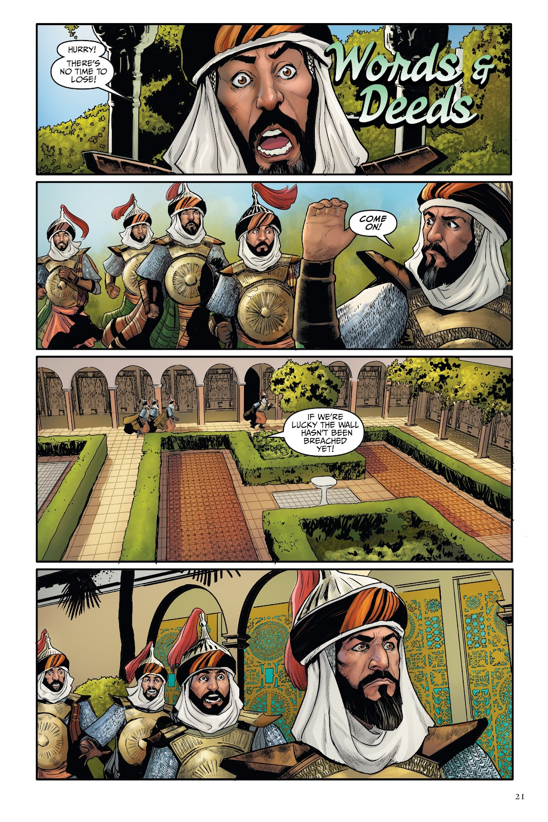 Read online Disney Aladdin: Four Tales of Agrabah comic -  Issue # TPB - 21