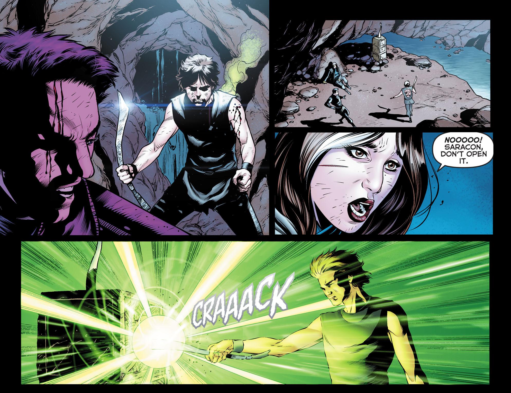 Read online Arrow: The Dark Archer comic -  Issue #12 - 9