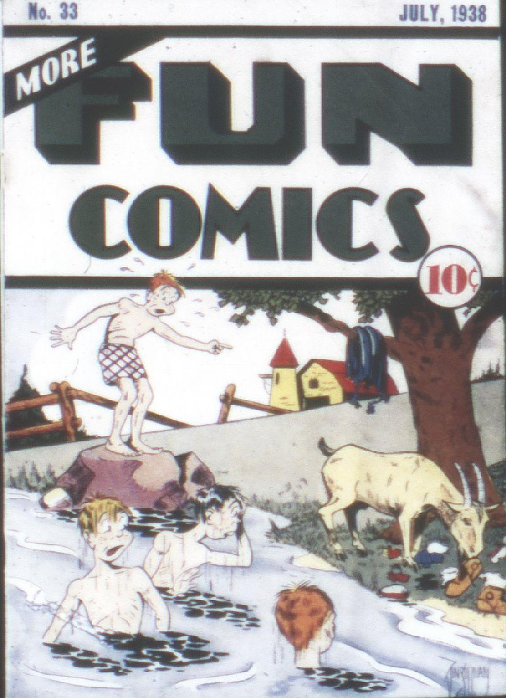 More Fun Comics 33 Page 1