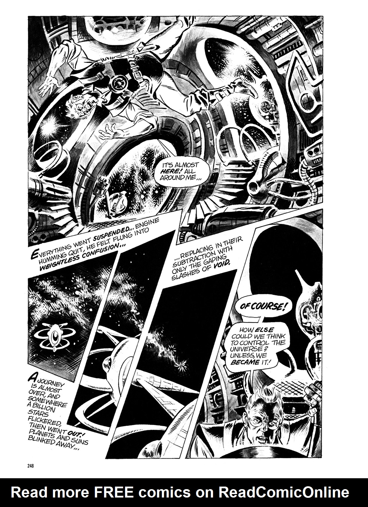 Read online Eerie Archives comic -  Issue # TPB 5 - 249