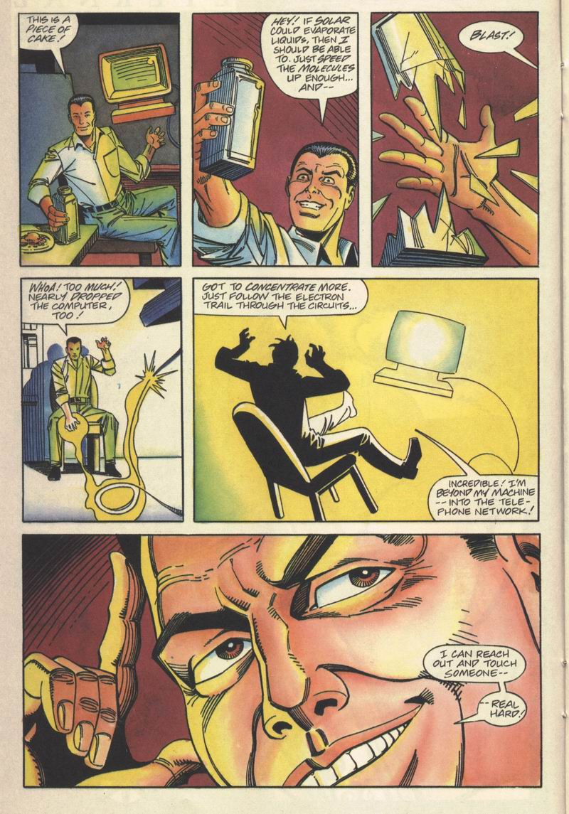 Read online Solar, Man of the Atom comic -  Issue #15 - 8