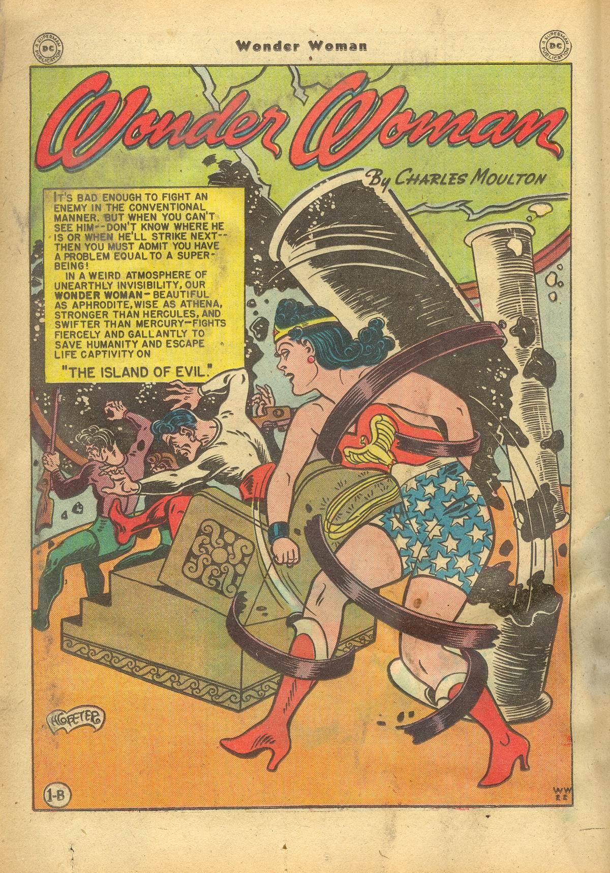Read online Wonder Woman (1942) comic -  Issue #22 - 20