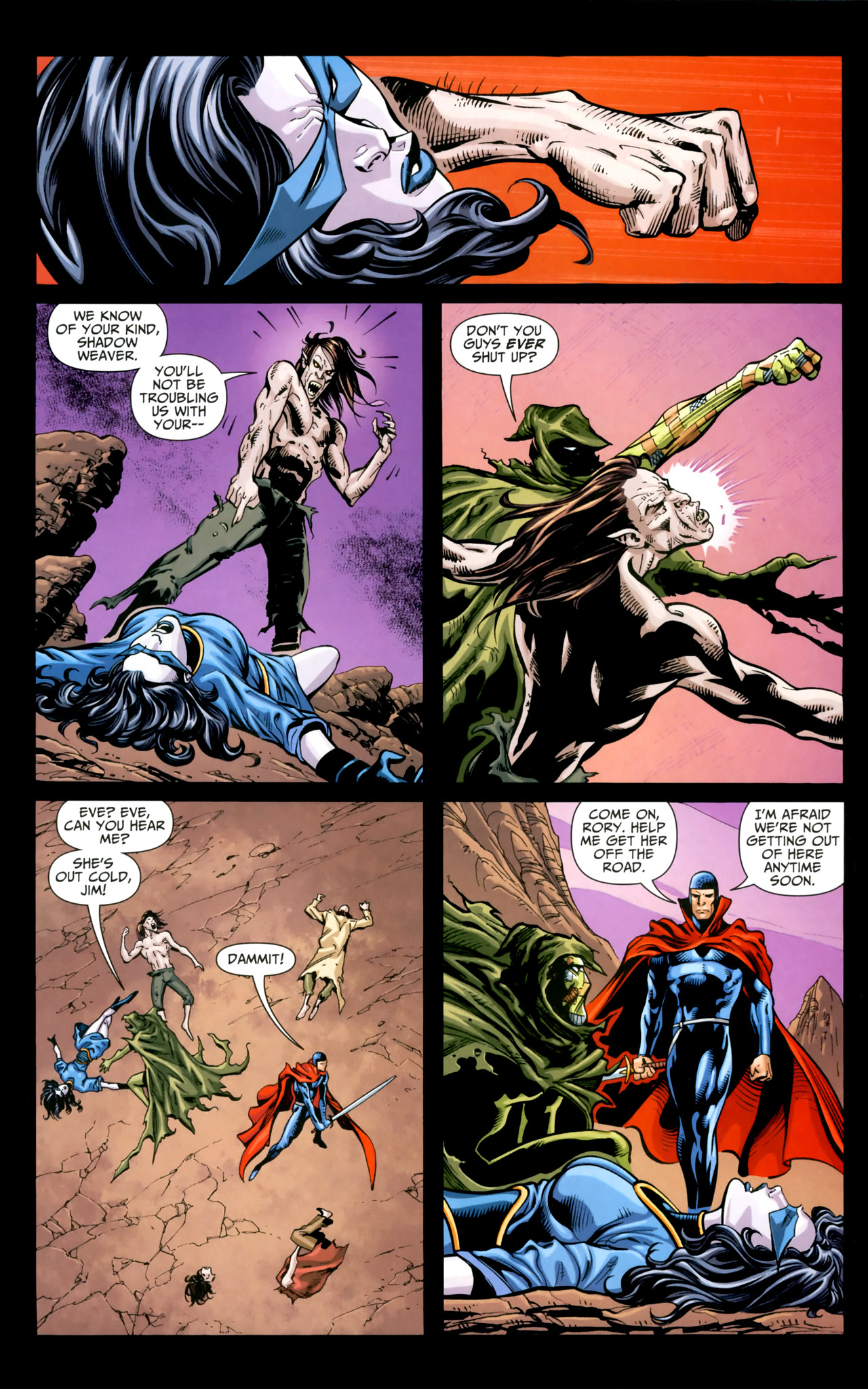 Read online Shadowpact comic -  Issue #18 - 11
