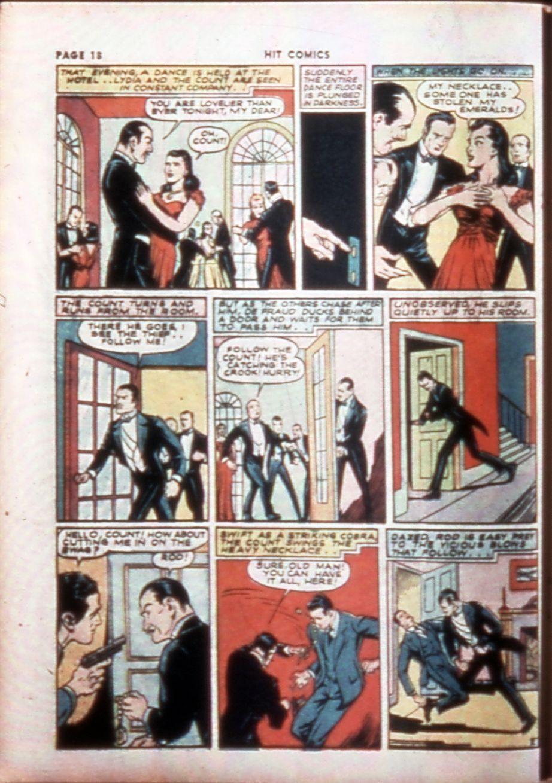 Read online Hit Comics comic -  Issue #14 - 20