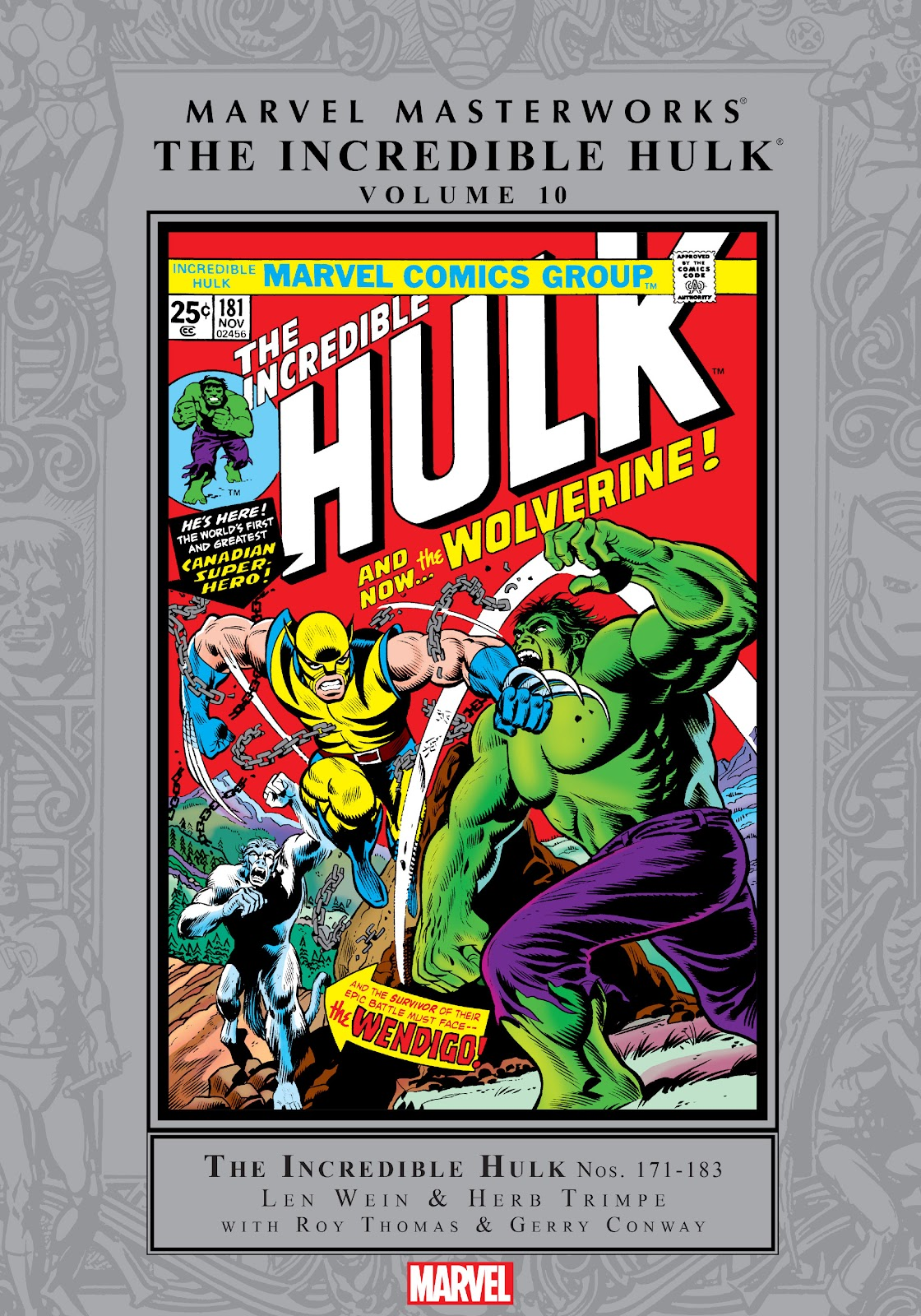 Read online Marvel Masterworks: The Incredible Hulk comic -  Issue # TPB 10 (Part 1) - 1