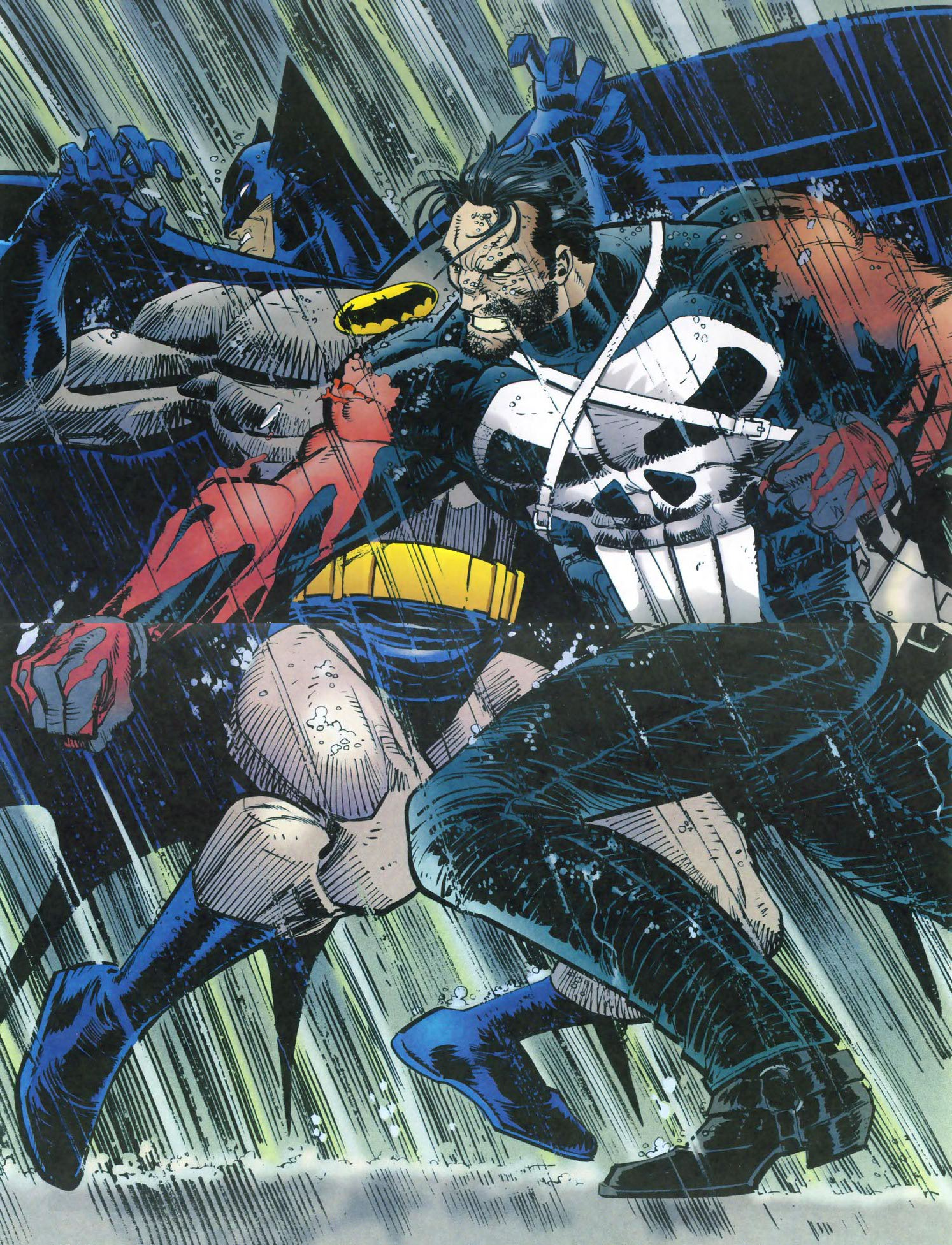 Read online Punisher/Batman: Deadly Knights comic -  Issue # Full - 44