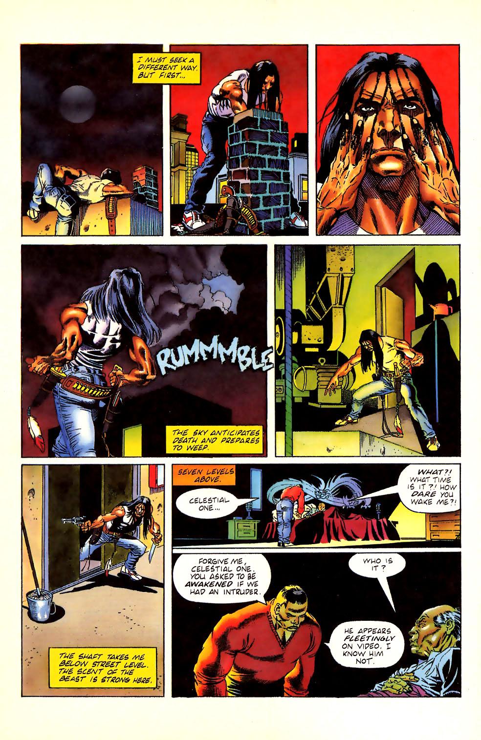 Read online Turok, Dinosaur Hunter (1993) comic -  Issue #11 - 21