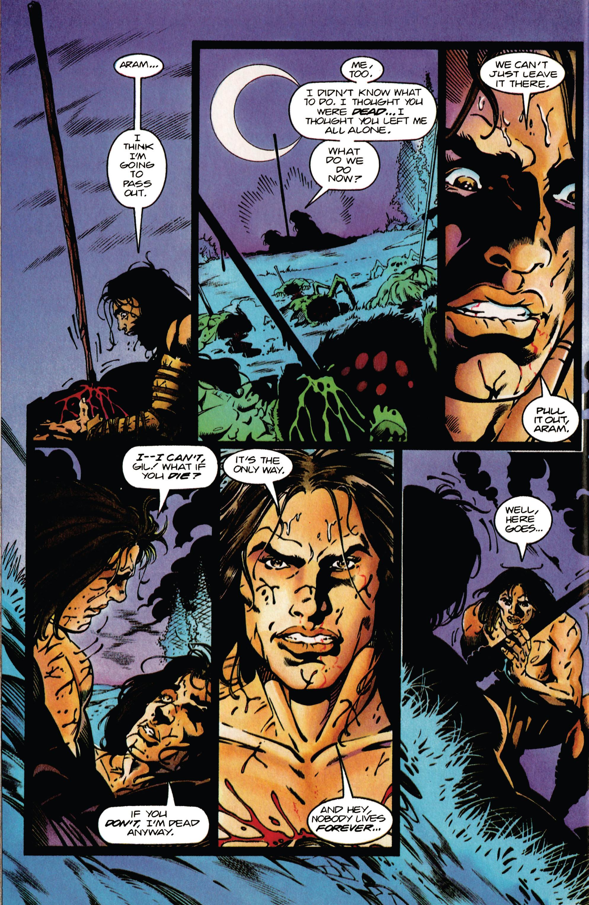 Read online Eternal Warrior (1992) comic -  Issue #37 - 16