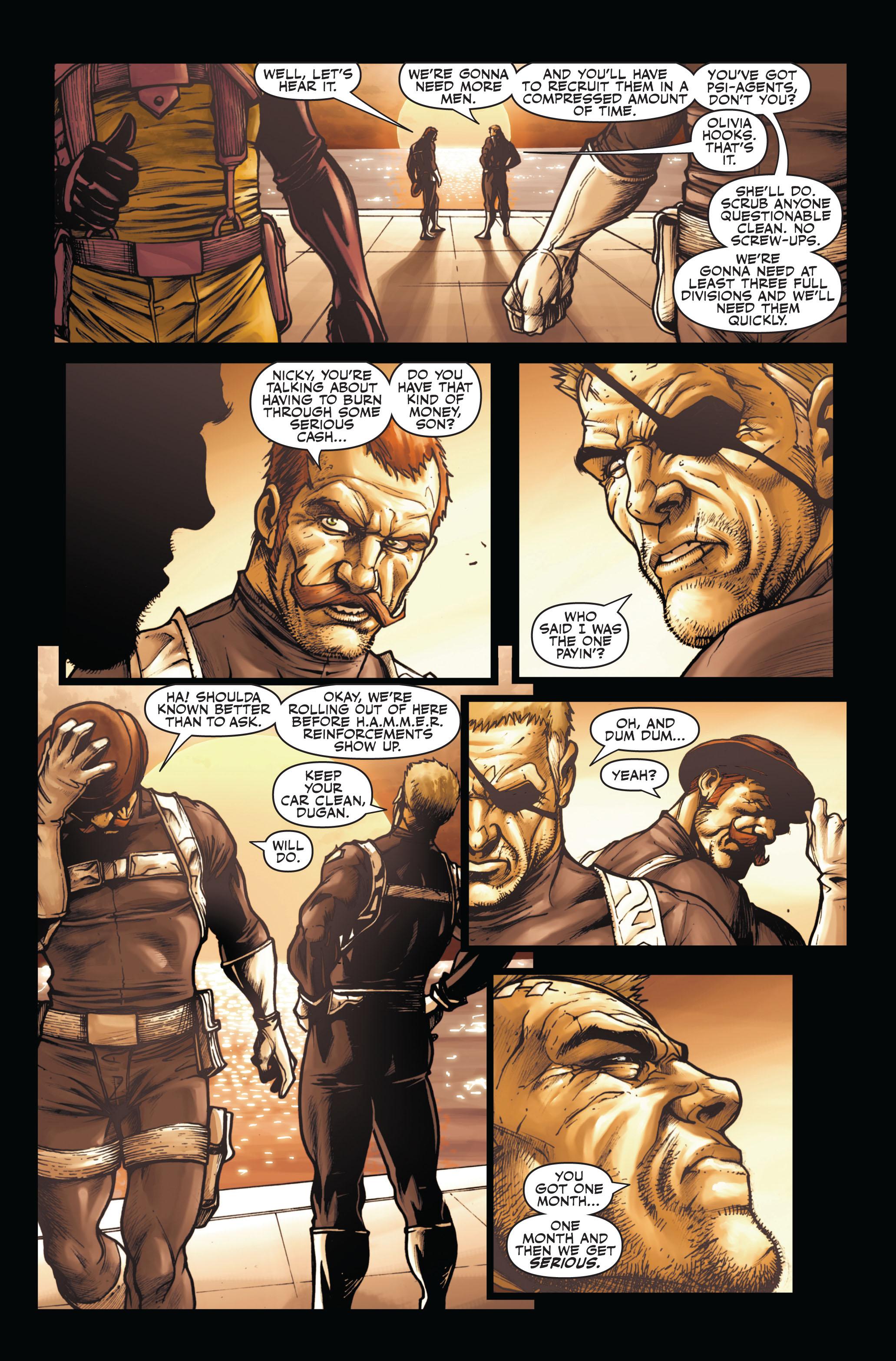 Read online Secret Warriors comic -  Issue #6 - 18