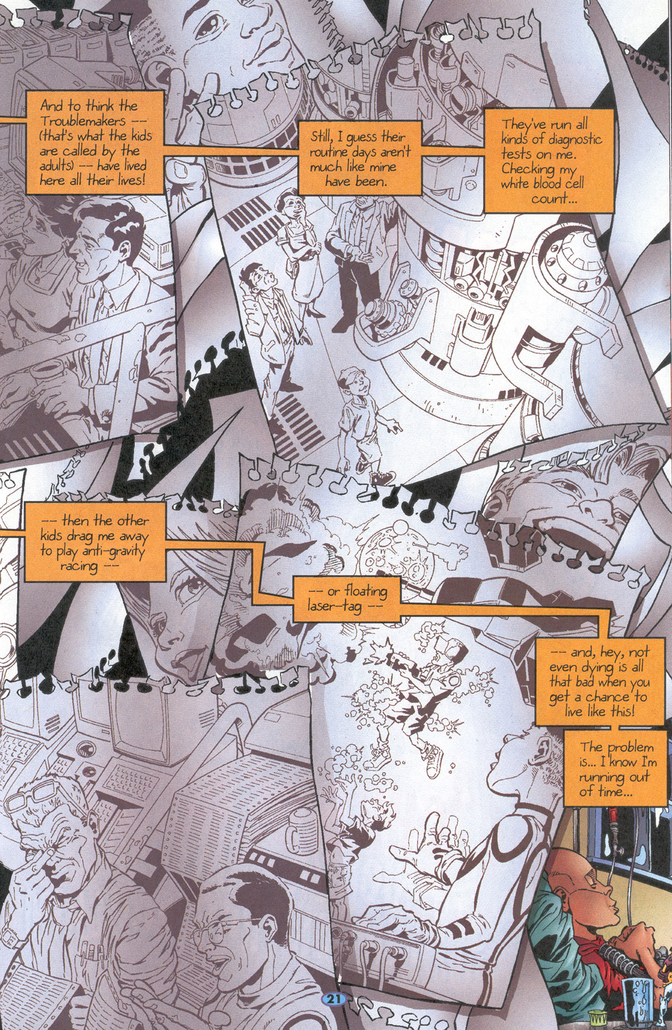 Read online Troublemakers comic -  Issue #10 - 18