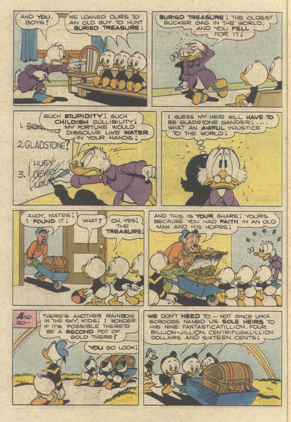 Read online Uncle Scrooge (1953) comic -  Issue #240 - 14