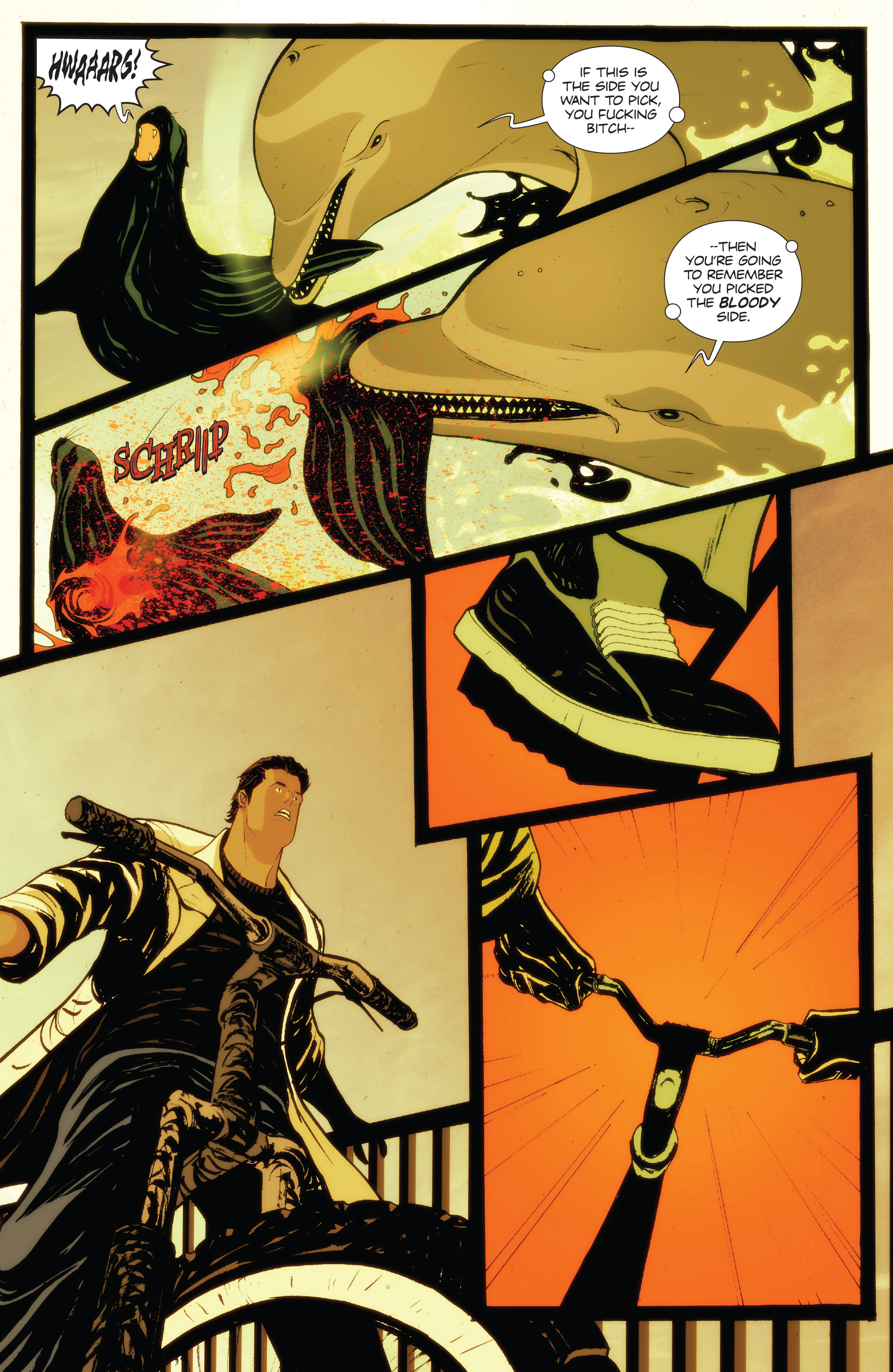 Read online Animosity: The Rise comic -  Issue #Animosity: The Rise Full - 8