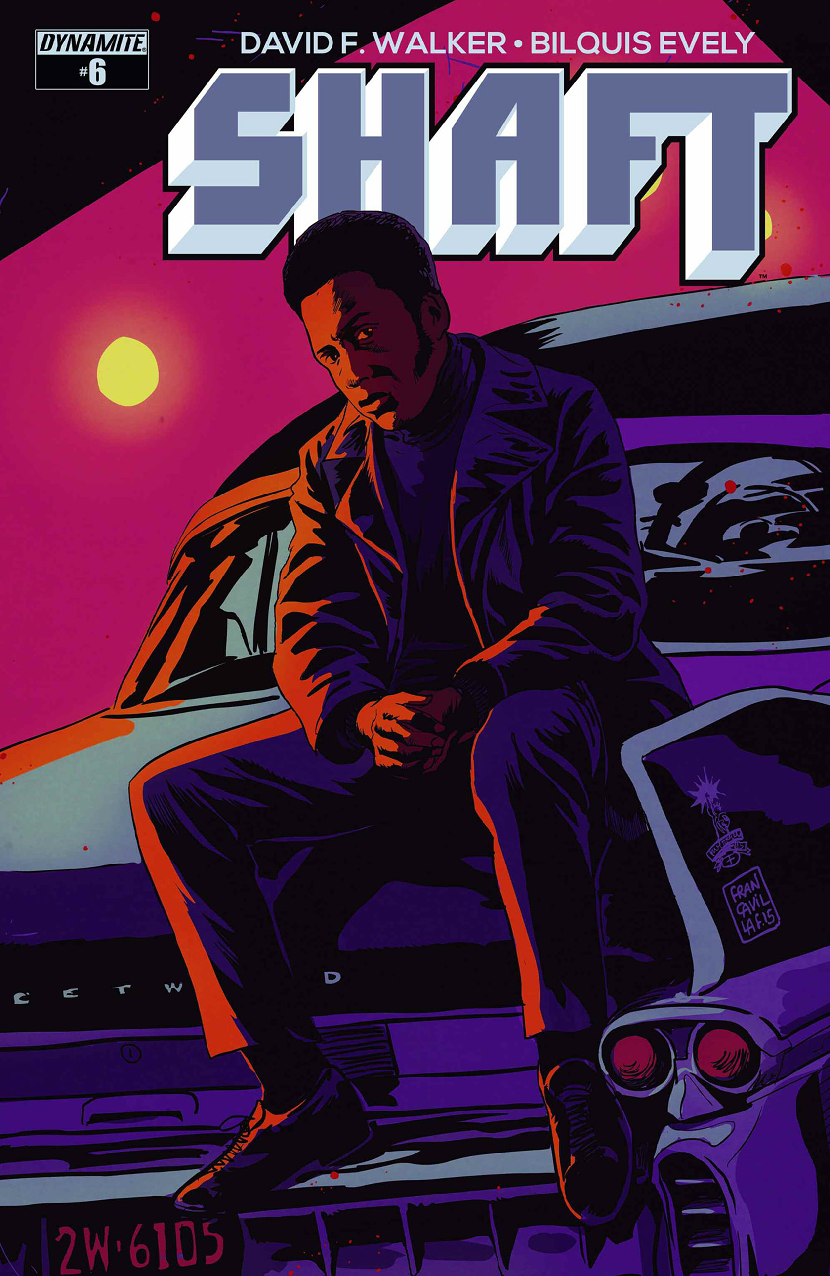 Read online Shaft comic -  Issue #6 - 2