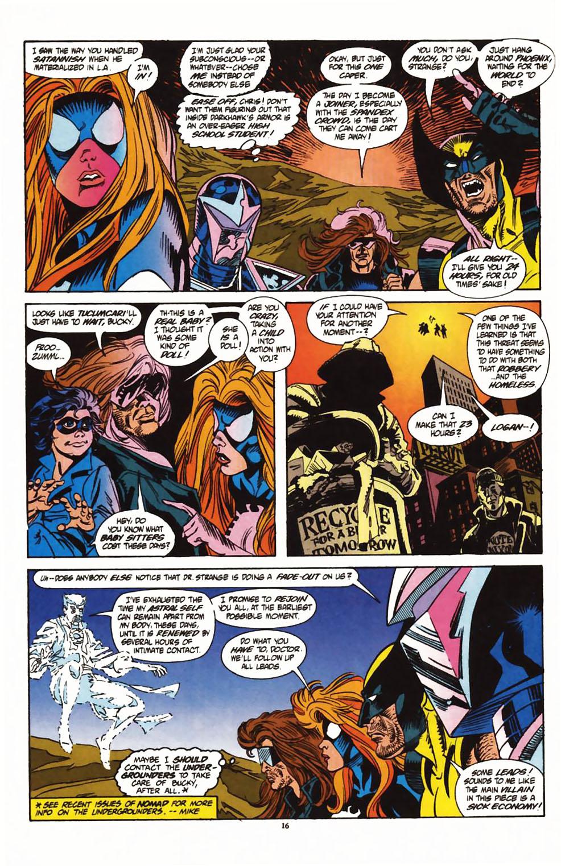 Read online Secret Defenders comic -  Issue #1 - 13