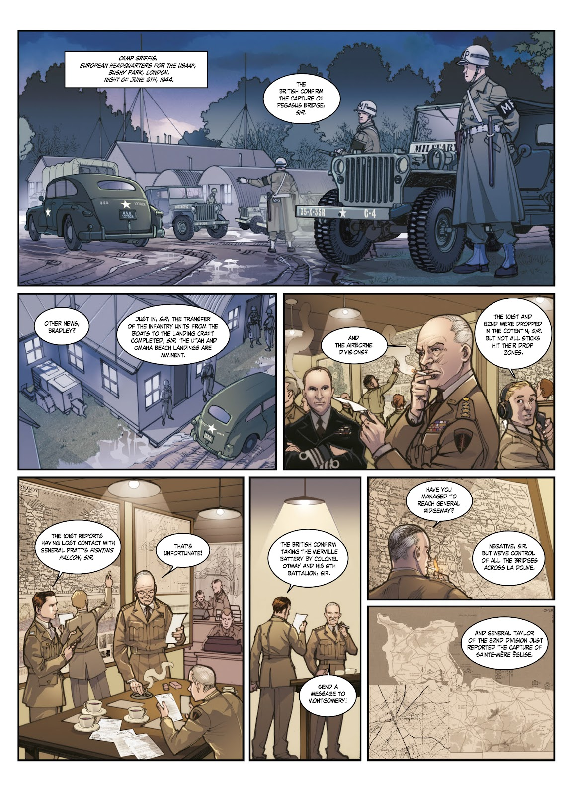 Read online Opération Overlord comic -  Issue #1 - 45