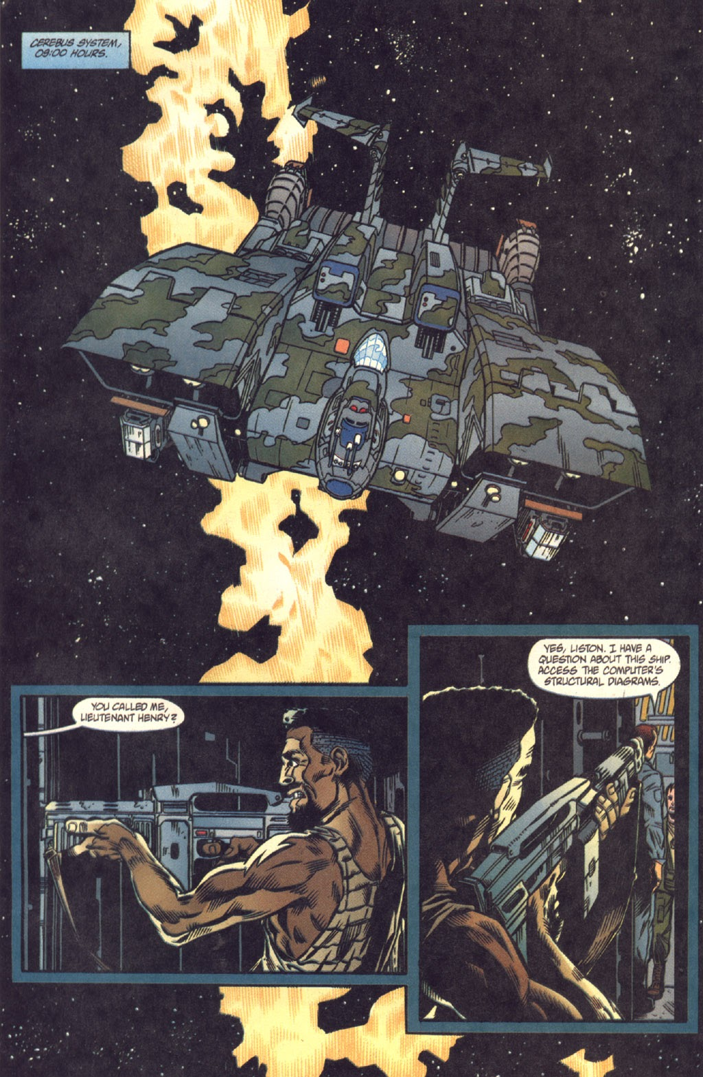 Read online Aliens: Colonial Marines comic -  Issue #8 - 3