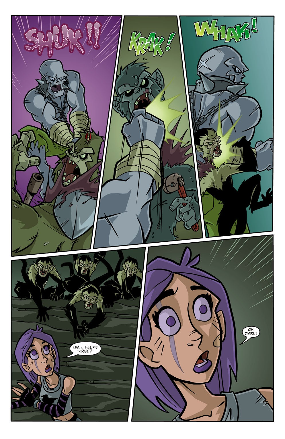Read online Xombie Reanimated comic -  Issue #3 - 10