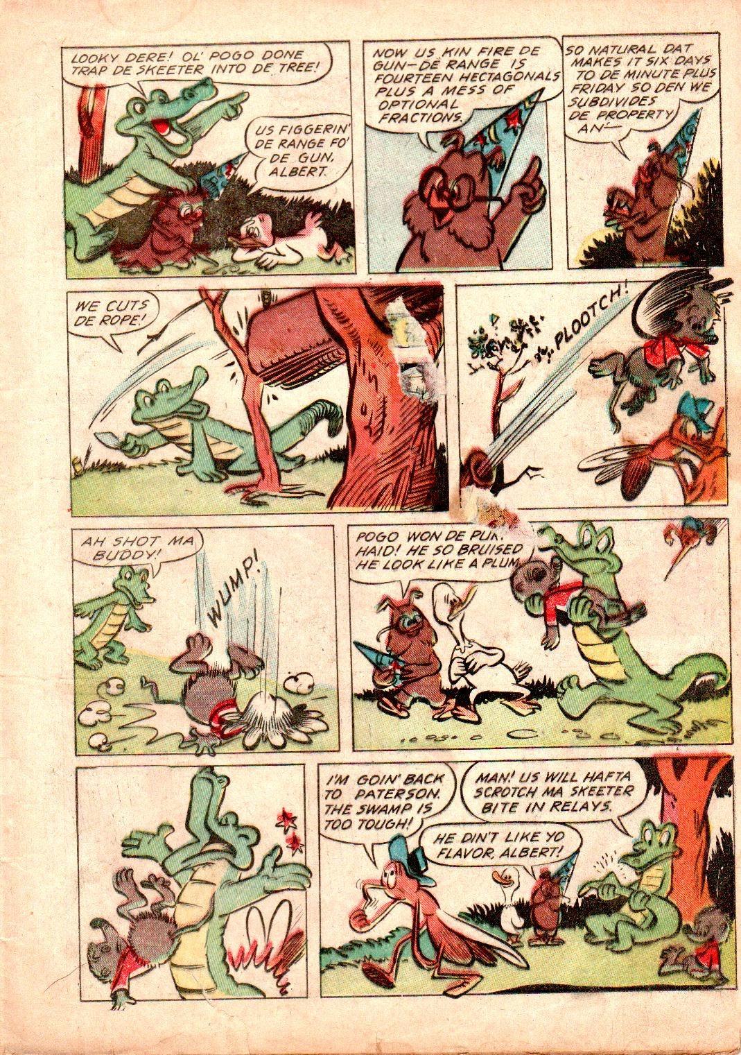 Read online Animal Comics comic -  Issue #19 - 19