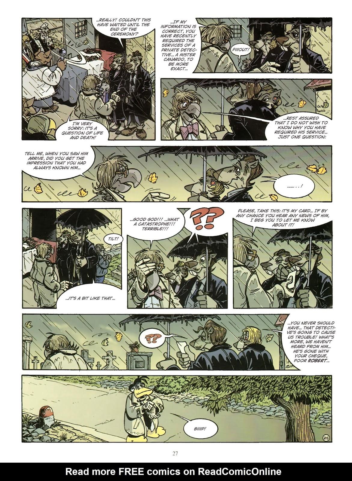 Une enquête de l'inspecteur Canardo issue 11 - Page 28