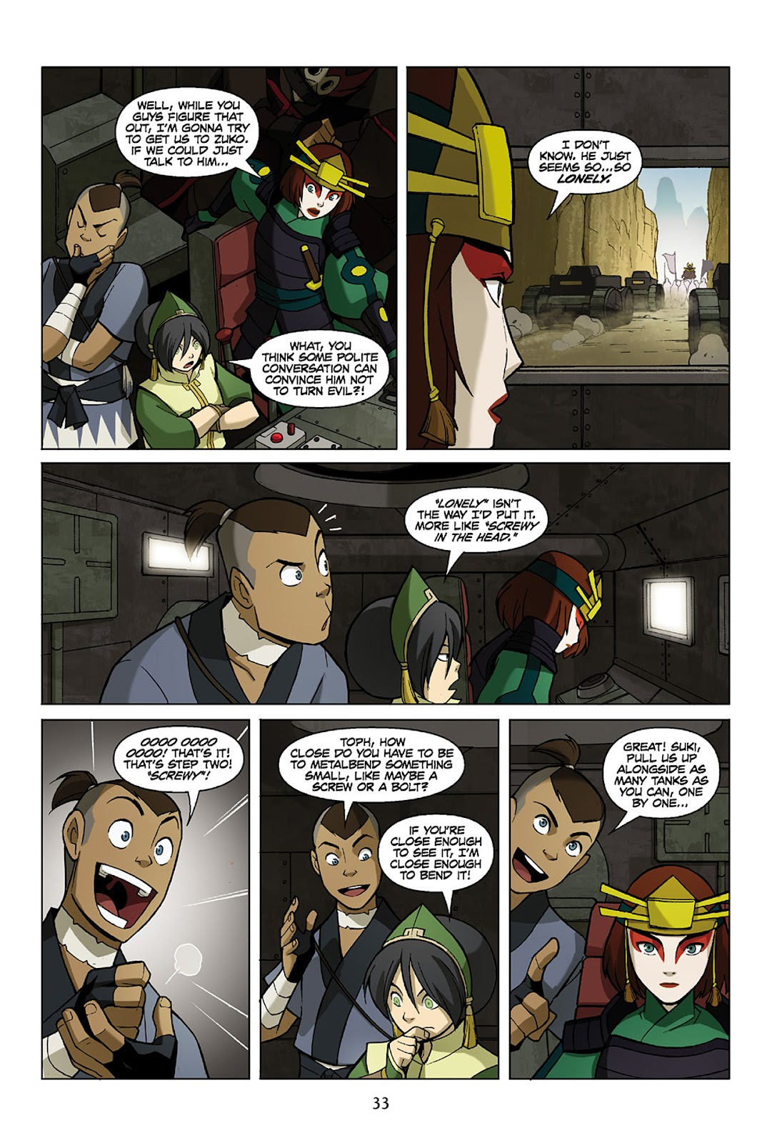 Comic Nickelodeon Avatar: The Last Airbender - The Promise issue 3