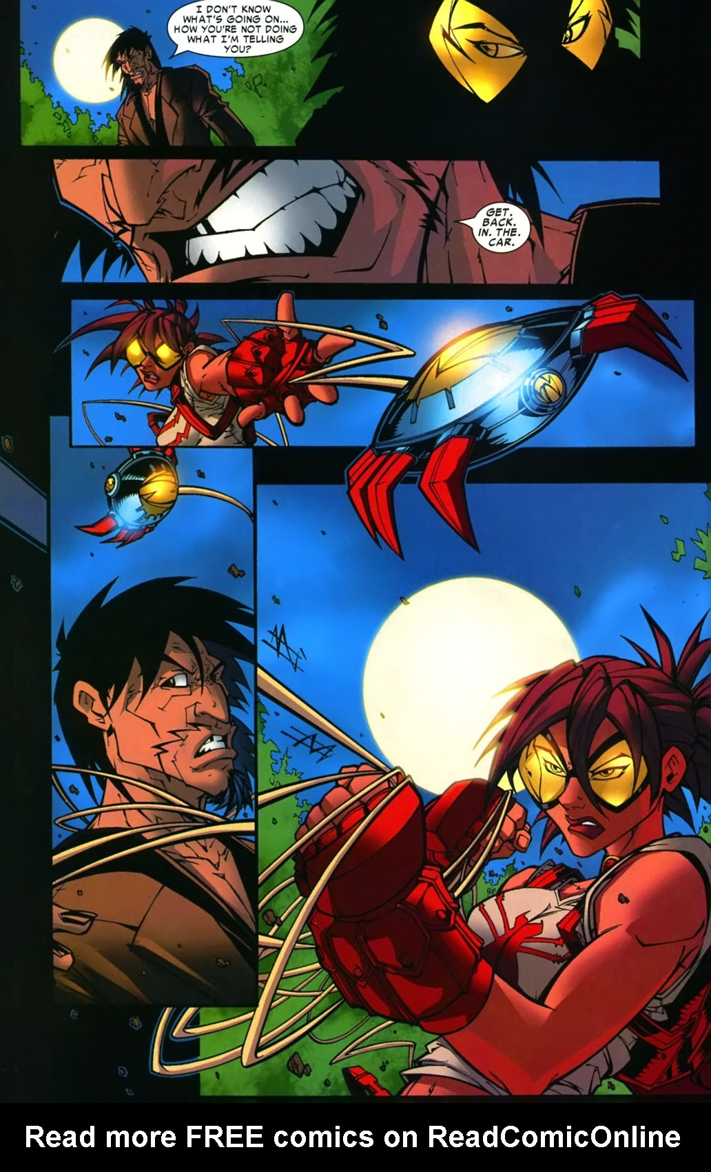 Read online Araña: Heart of the Spider comic -  Issue #12 - 14