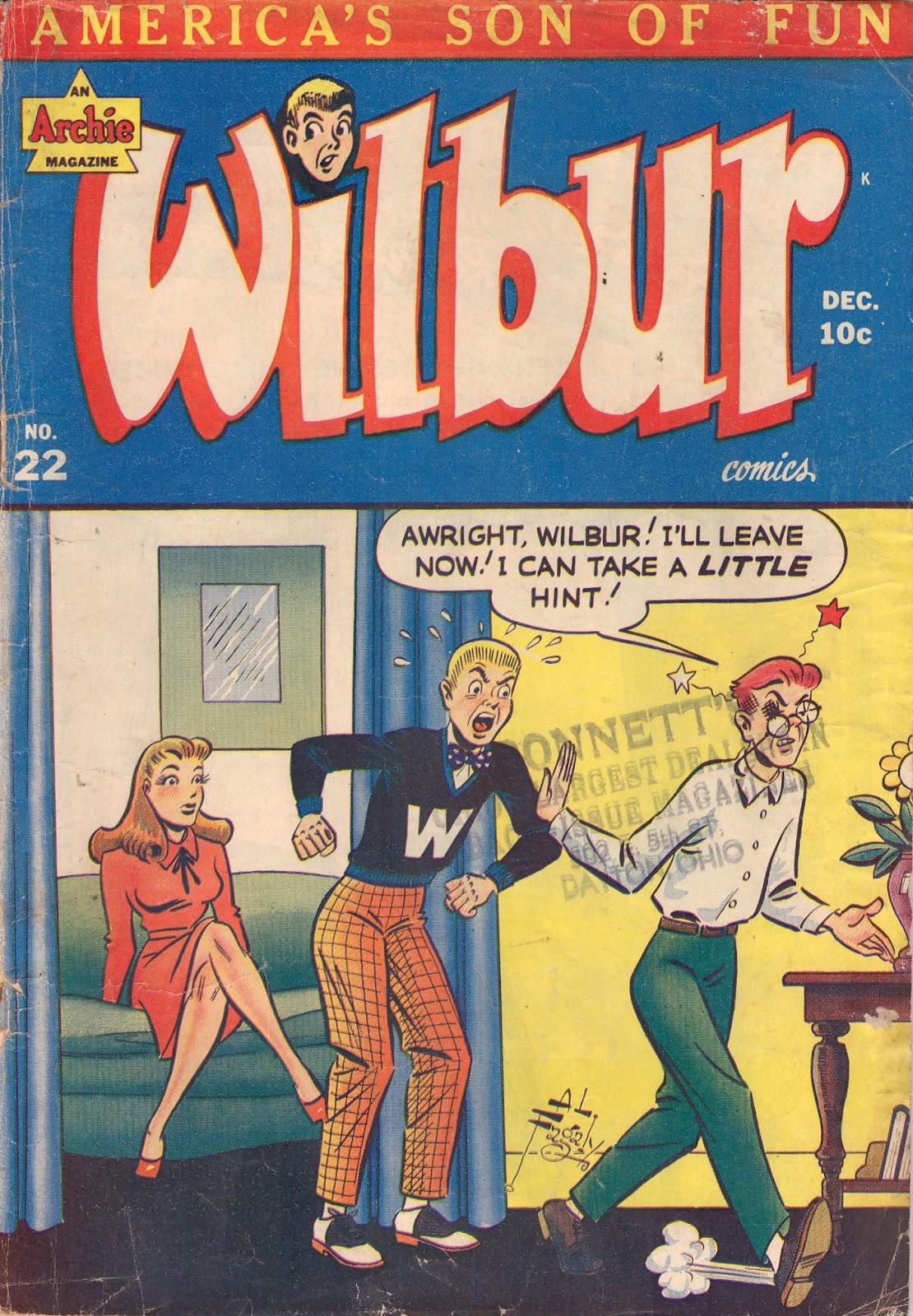 Wilbur Comics 22 Page 1