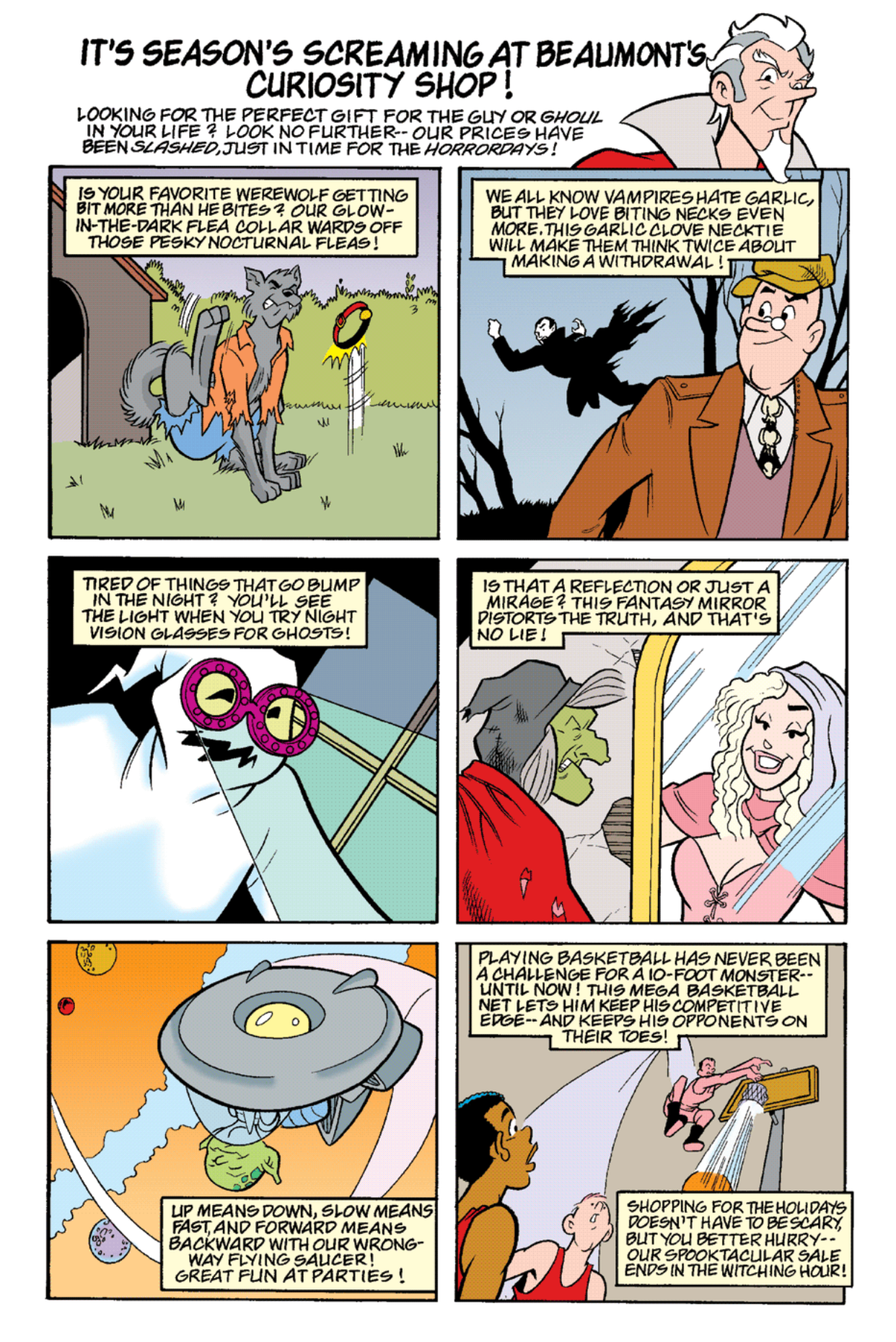 Read online Archie's Weird Mysteries comic -  Issue #18 - 14
