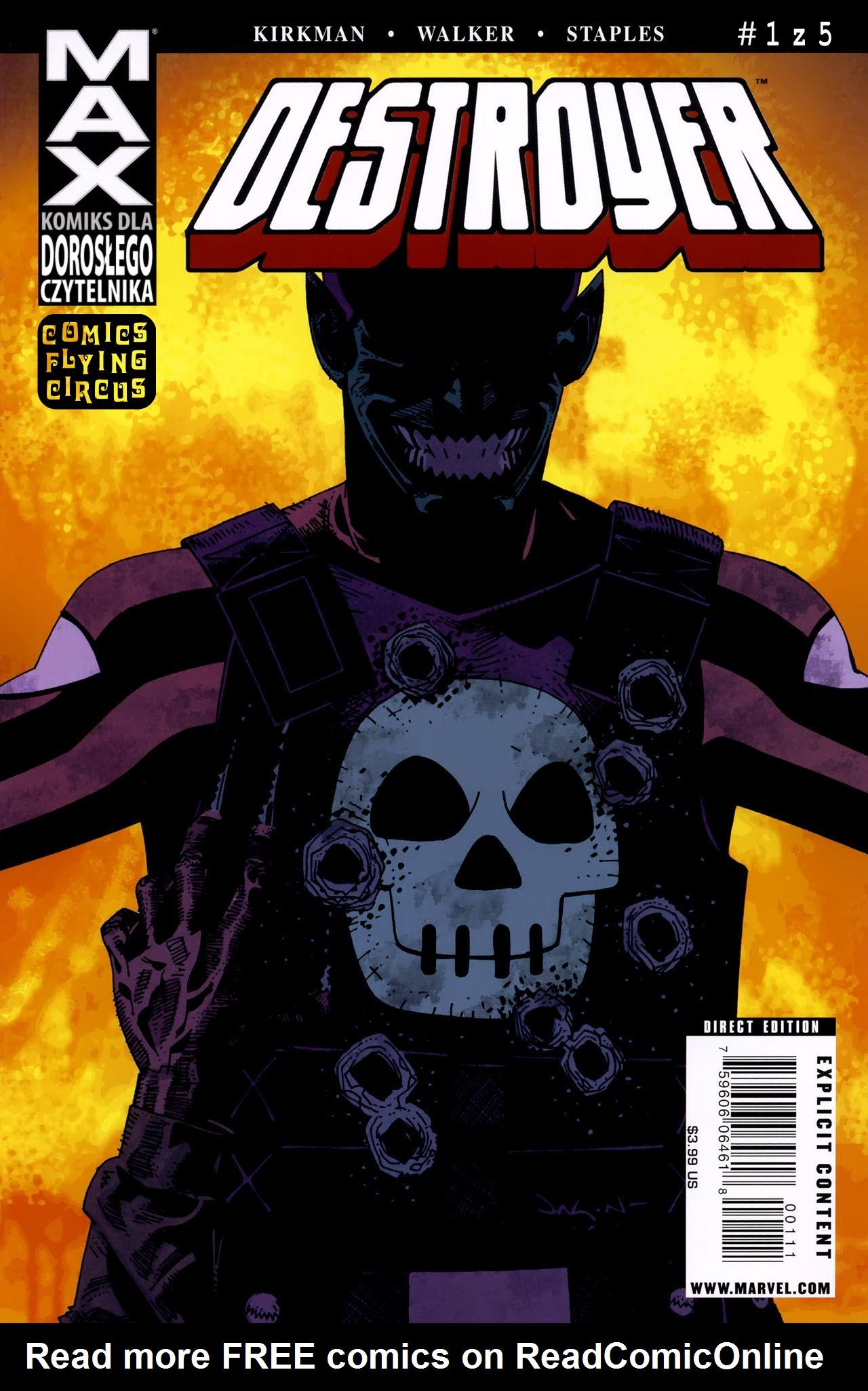 Read online Destroyer comic -  Issue #1 - 1