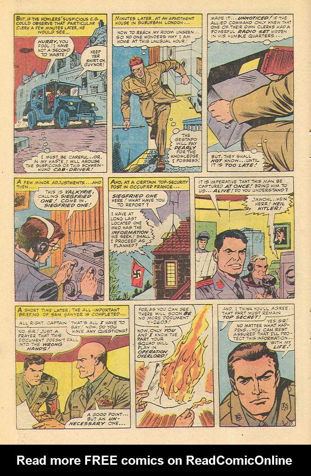 Read online Sgt. Fury comic -  Issue #92 - 30
