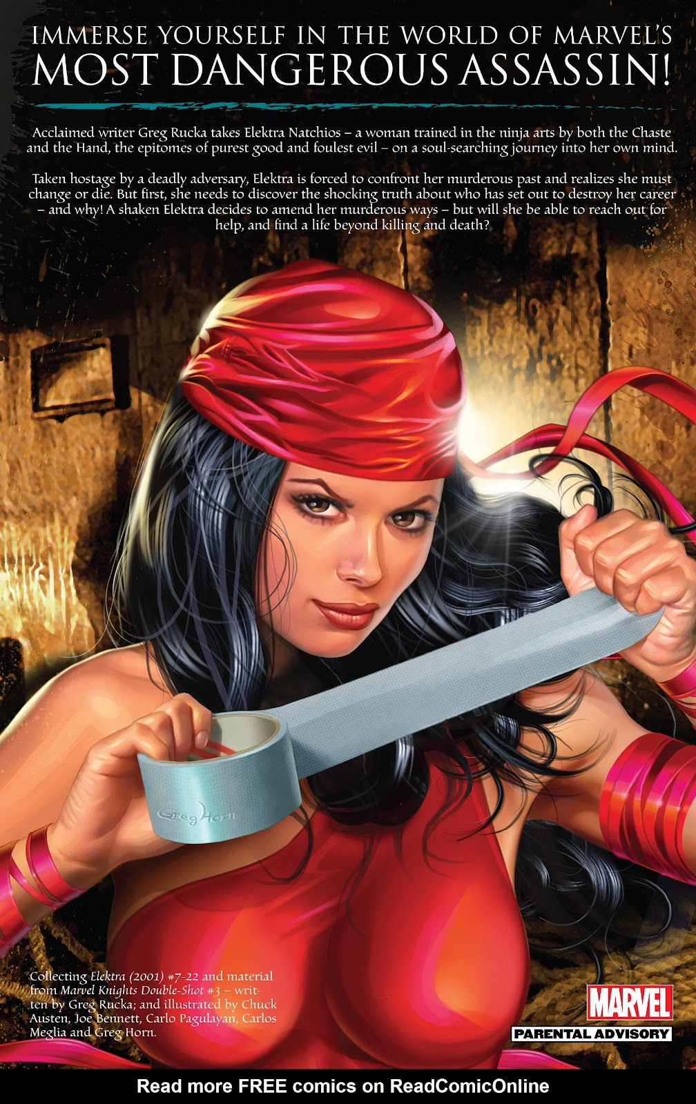 Read online Elektra (2001) comic -  Issue # _TPB Elektra by Greg Rucka Ultimate Collection (Part 4) - 77
