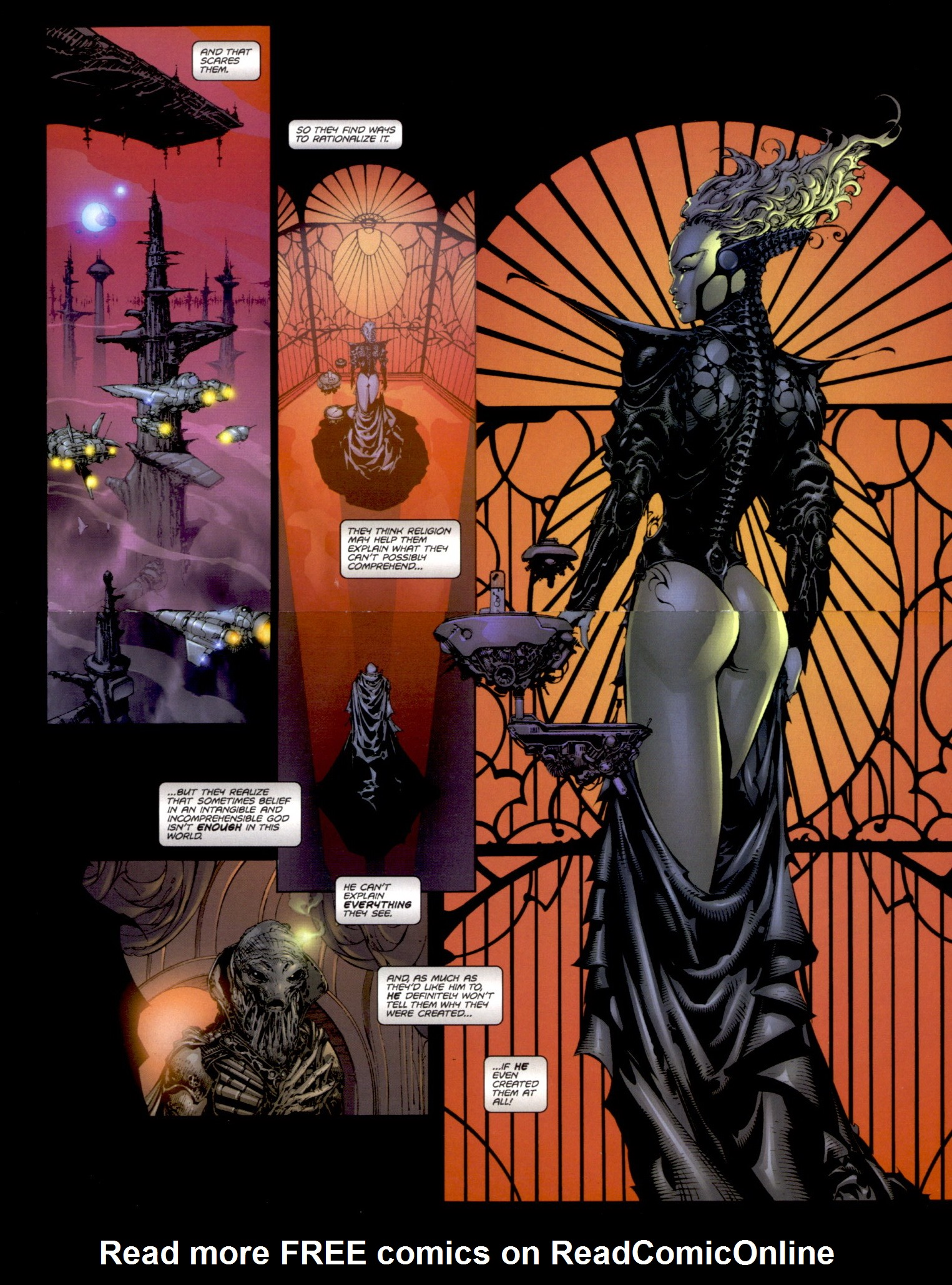 Read online Aphrodite IX (2000) comic -  Issue #0 - 4