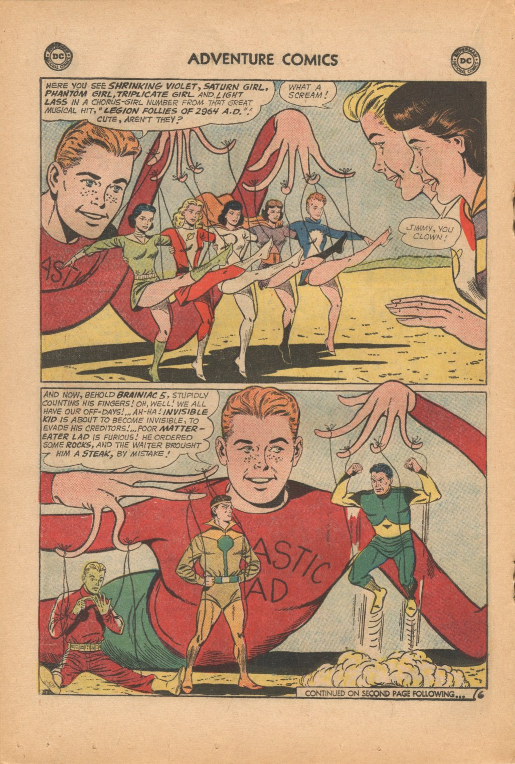 Read online Adventure Comics (1938) comic -  Issue #323 - 18