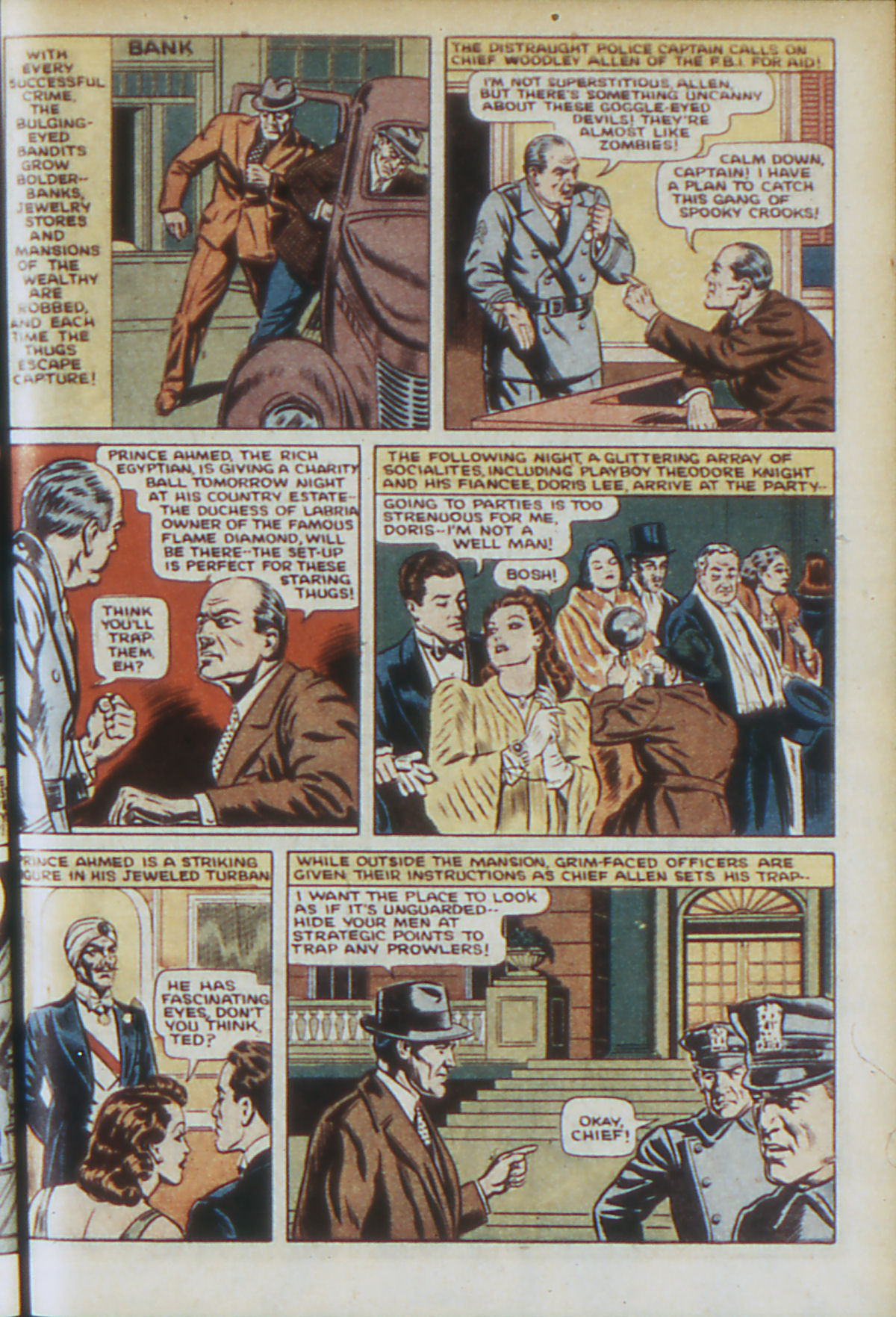 Read online Adventure Comics (1938) comic -  Issue #64 - 6