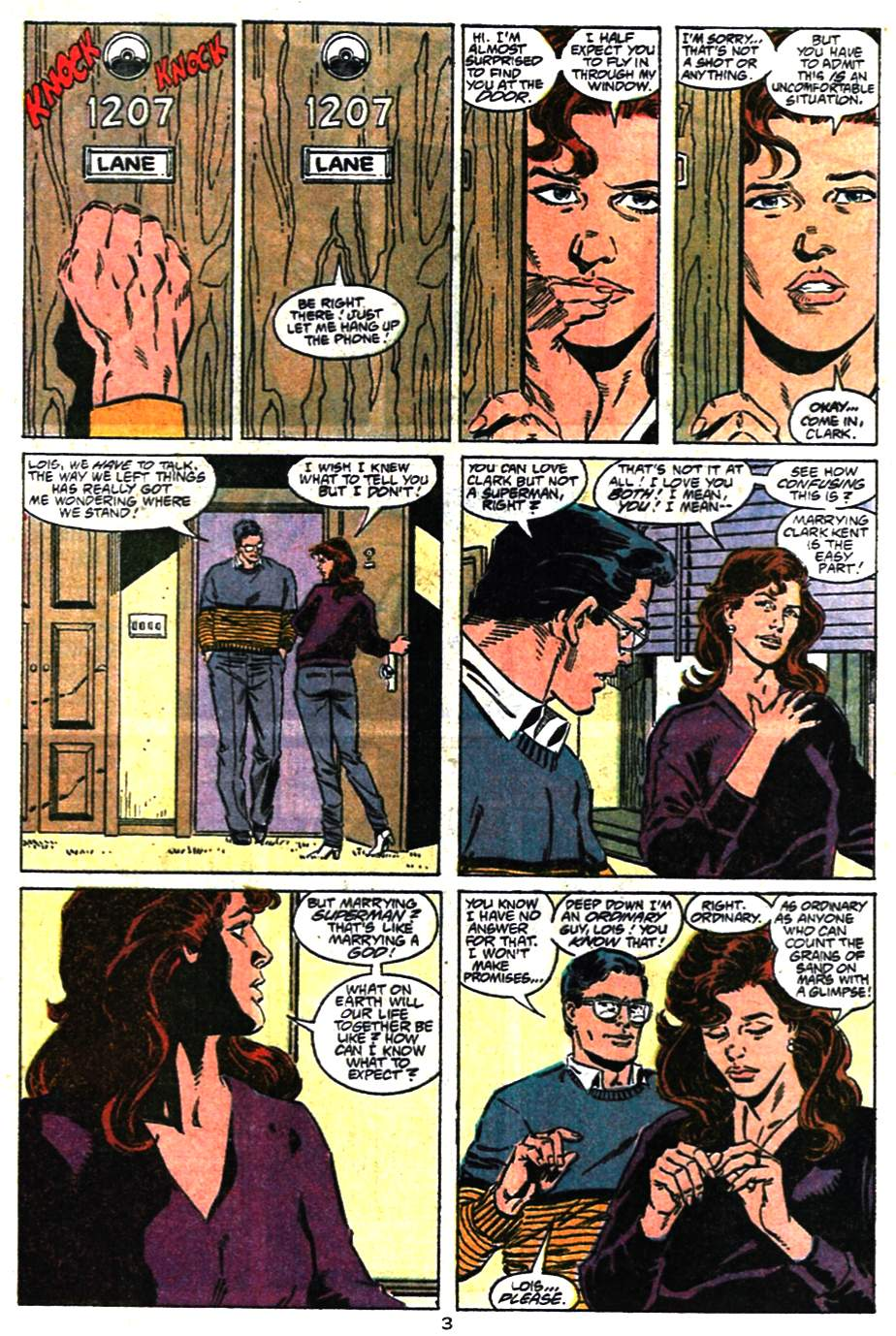 Read online Adventures of Superman (1987) comic -  Issue #476 - 4