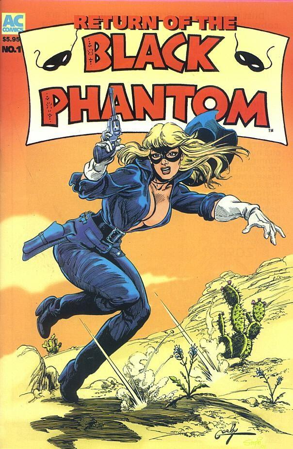 The Return of the Black Phantom Full Page 1