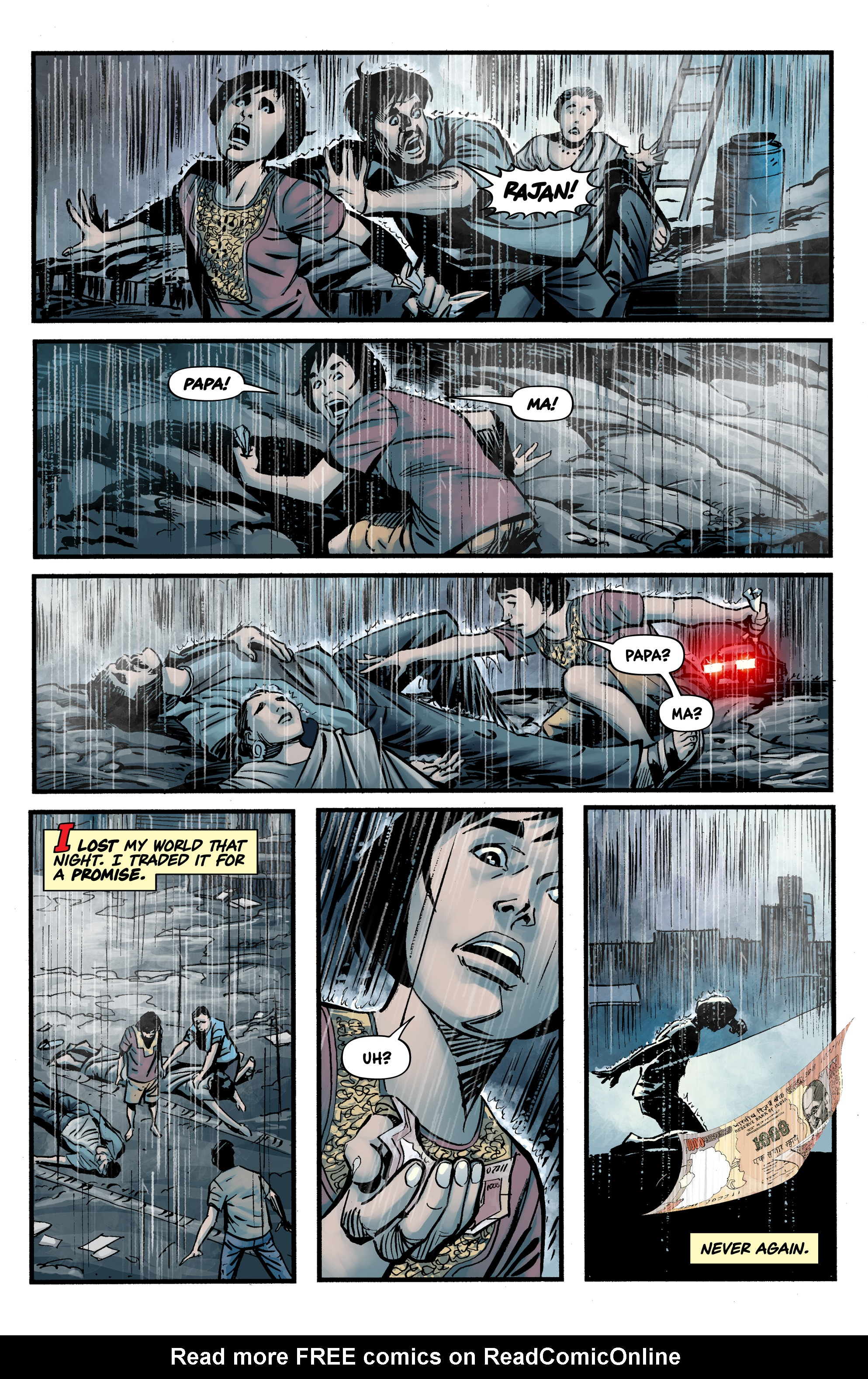 Read online Shadow Tiger comic -  Issue #1 - 7